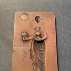 Medallas temáticas: SUBIRACHS - MEDALLA CONMEMORATIVA - 1863-1988 ANIVERSARI DE LA CAIXA LAIETANA - 7,5X 4,5 CM.. Lote 265502409