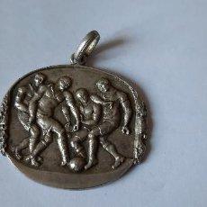 Medallas temáticas: MEDALLA DE PLATA (11 GRMS) CAMPIONAT 1924 U.S.S. UNIÓ SPORTIVA SANS.. Lote 265774019