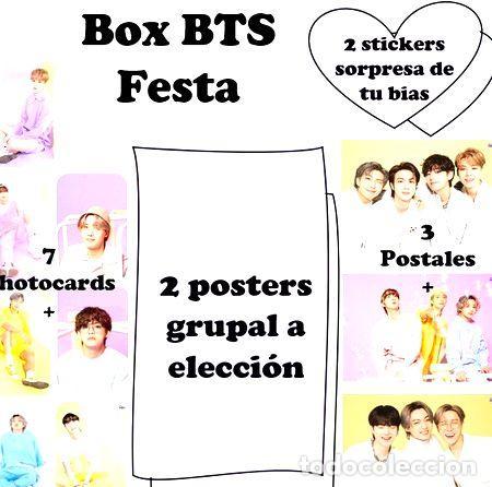 BTS FESTA BOX (Numismática - Medallería - Temática)