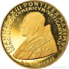 Medallas temáticas: [#891758] VATICANO, MEDALLA, JOANNES XXIII, SECOND ECUMENICAL COUNCIL, 1962, SC+, ORO. Lote 269167548
