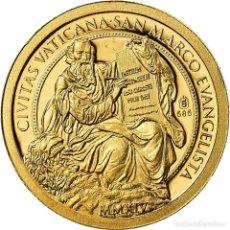 Medallas temáticas: [#719226] VATICANO, MEDALLA, ESSAI 100 EURO, 2014, FDC, ORO. Lote 269179173
