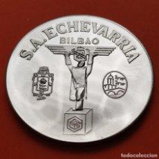 Medaglie tematiches: BILBAO MEDALLA DE ACERO 10 DE JUNIO DE 1977 S.A. ECHEVARRIA JUNTA GENERAL DEL ACCIONISTAS VIZCAYA. Lote 269627598