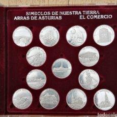 Medaglie tematiches: ARRAS ASTURIANAS, SÍMBOLOS DE NUESTRA TIERRA, PLATA DE PRIMERA LEY. Lote 270136223