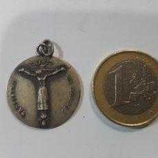 Medallas temáticas: GRAN MEDALLA CRISTO DE BURGOS. S. XIX. PLATA. Lote 270242958