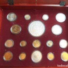 Medallas temáticas: FNMT. REAL CASA DE LA MONEDA. HISTORIA DE LA MONEDA ESPAÑOLA. PLATA DE 925 Y BAÑO DE ORO. Lote 276748278