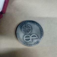Medallas temáticas: MEDALLA CON SU CAJA ORIGINAL ESPAÑOLA DE FINANZAS SA 1967 BARCELONA 1977. Lote 277186073