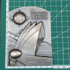 Medallas temáticas: MEDALLA DEL IV CONGRESO INTERNACIONAL DE TRÁFICO MARÍTIMO Y MANIPULACIÓN PORTUARIA, ISLAS CANARIAS. Lote 278185858