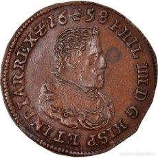 Medallas temáticas: [#867309] PAÍSES BAJOS ESPAÑOLES, TOKEN, PHILIP IV, ANVERS, 1658, EBC, COBRE. Lote 278211773