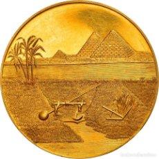 Medallas temáticas: [#970579] EGIPTO, MEDALLA, ROYAL AGRICULTURE SOCIETY TO PRINCE KAMAL EL DINE HUSSEIN. Lote 279414633