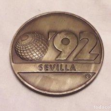 Medallas temáticas: MEDALLA CONMEMORATIVA EXPO 92 SEVILLA LA CARTUJA. Lote 286383268