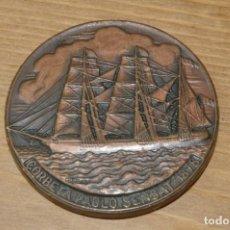 Medallas temáticas: SALON NAUTICO INTERNACIONAL 1983 CORBETA PABLO SENSAT. Lote 286943808