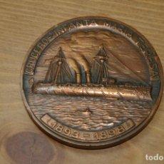 Medallas temáticas: SALON NAUTICO INTERNACIONAL 1988 CRUCERO INFANTA MARIA TERESA. Lote 286944238