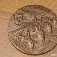 Medallas temáticas: CASTILLO DE CHAMBORD DIAMETRO 6 CMS AÑO 1979. Lote 286964313