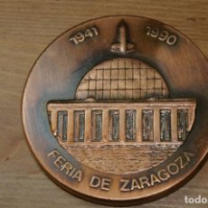 Medallas temáticas: ZARAGOZA 50 ANIVERSARIO FERIA MUESTRAS 1990. Lote 286964483