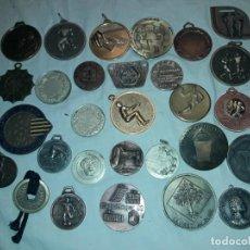Medallas temáticas: GRAN LOTE DE 29 MEDALLAS DIVERSAS VER FOTOS. Lote 286981913