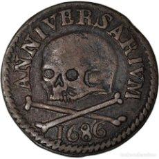 Medallas temáticas: [#908553] BÉLGICA, TOKEN, SAINT LAMBERT - LIÈGE, 1686, EBC, COBRE. Lote 287883253
