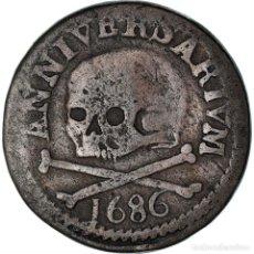 Medallas temáticas: [#908552] BÉLGICA, TOKEN, SAINT LAMBERT - LIÈGE, 1686, BC+, COBRE. Lote 287883263