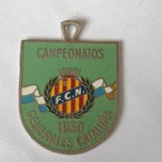 Medallas temáticas: MEDALLA CAMPEONATOS GENERALES CATALUÑA 1950 F.C.N.. Lote 288652138