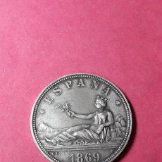 Medallas temáticas: MEDALLA CENTENARIO DE LA PESETA. 1869-1969.. Lote 288736308