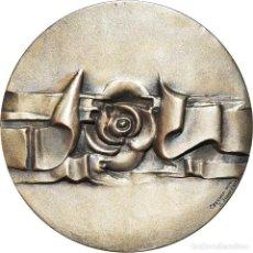 Medallas temáticas: [#181350] SAN MARINO, MEDALLA, EMANCIPAZIONE DELLA DONNA, 1973, JOHNSON, SC+, PLATA. Lote 289211998