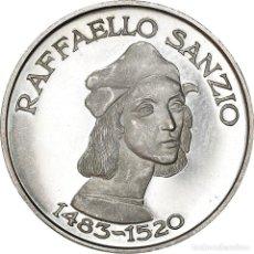 Medallas temáticas: [#181190] ITALIA, MEDALLA, RAFAELLO SANZIO, ARTS & CULTURE, 1970, EBC+, PLATA. Lote 289228848