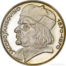 Medallas temáticas: [#181188] ITALIA, MEDALLA, JACOPO SANSOVINO, ARTS & CULTURE, 1970, SC, PLATA. Lote 289228933