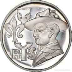 Medallas temáticas: [#181185] ITALIA, MEDALLA, SCOUTISMO, 1968, SC, PLATA. Lote 289228988
