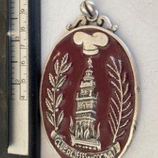 Medallas temáticas: GRAN MEDALLA CLUB DE JEFES DE COCINA LA GIRALDA ENTRE FOGONES. Lote 289883138