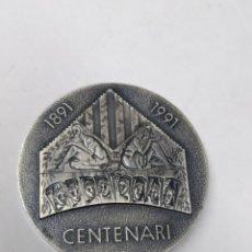 Medallas temáticas: MEDALLA CENTENARI ORFEO CATALA EXHIBICIÓ FILATÉLICA Y NUMISMÁTICA TEMA MUSICAL. Lote 289888803