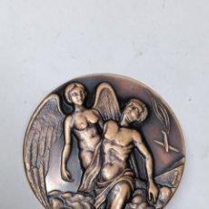 Medallas temáticas: MEDALLA ASOCIACIÓN DE AVIADORES DE LA REPÚBLICA 1936-1939 GUERRA CIVIL ESPAÑOLA HONOR ANTE TODO. Lote 289895968