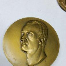 Medallas temáticas: MEDALLA GRAN FORMATO Y RELIEVE JUAN CARLOS REY DE ESPAÑA. Lote 289899193