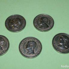 Medallas temáticas: MEDALLAS FAMILIA REAL DIAMETRO 4 CMS VER IMAGENES JUAN CARLOS SOFIA FELIPE CRISTINA ELENA BORBON. Lote 290857478
