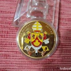 Medallas temáticas: MEDALLA PAPA BENOIT XVI. Lote 295747258
