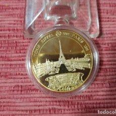 Medallas temáticas: MEDALLA TORRE EIFFEL. Lote 295747528