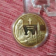 Medallas temáticas: MEDALLA SANTUARIO DE LOURDES. Lote 295747753