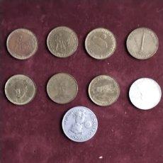 Medallas temáticas: FICHAS SHELL LOTE DE 9. Lote 295873488