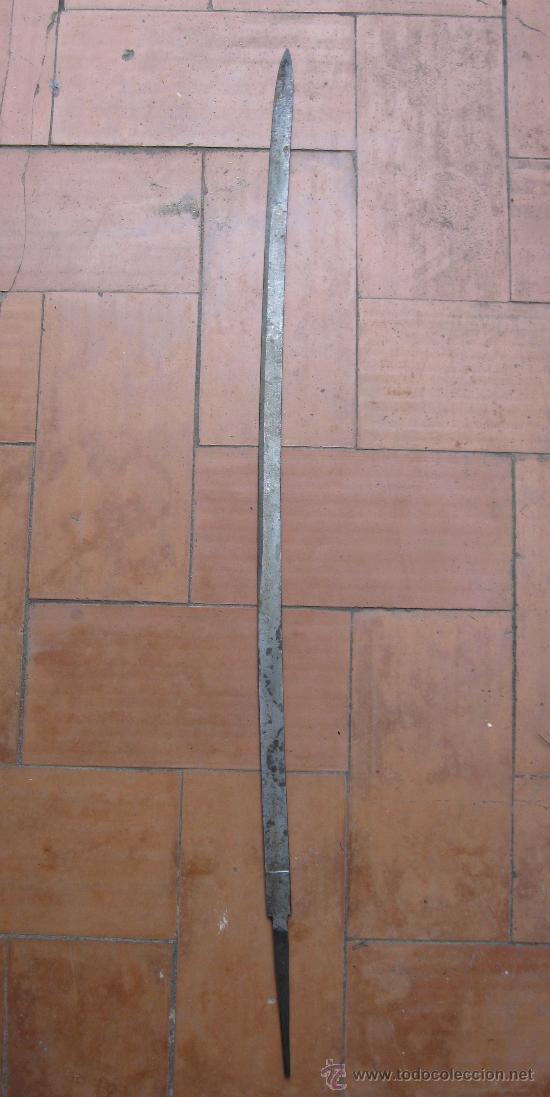Militaria: hoja de sable Artilleria fabrica de Toledo, para restauración . - Foto 2 - 27170489
