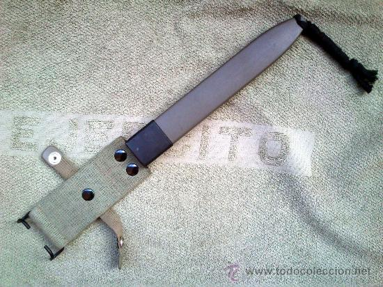 TAHALÍ O FUNDA DE MACHETE CETME L (Militar - Complementos Para Armas Blancas)