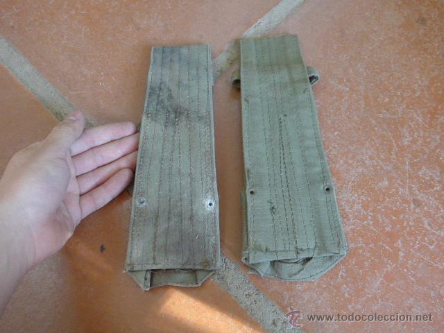 Militaria: Lote 2 tahali para bayoneta de cetme español - Foto 2 - 53965203
