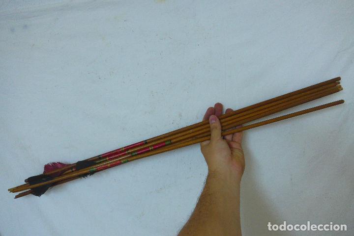 Militaria: Antiguo carcaj de arco de flechas, creo del amazonas de america del sur. Original. - Foto 4 - 126193315