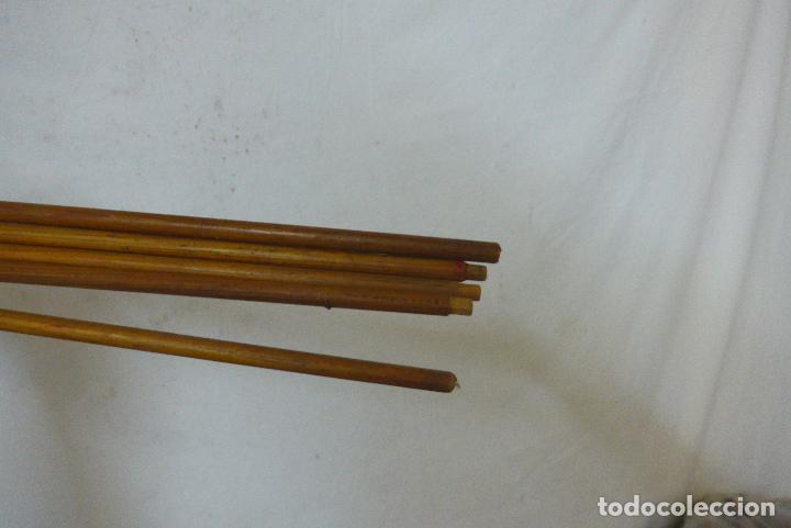 Militaria: Antiguo carcaj de arco de flechas, creo del amazonas de america del sur. Original. - Foto 7 - 126193315