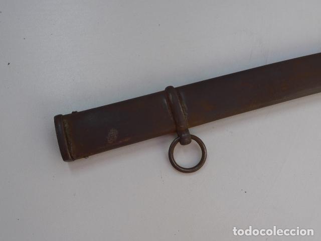 Militaria: * Antigua funda de sable o espada curvada, original de siglo XIX. ZX - Foto 8 - 154554018