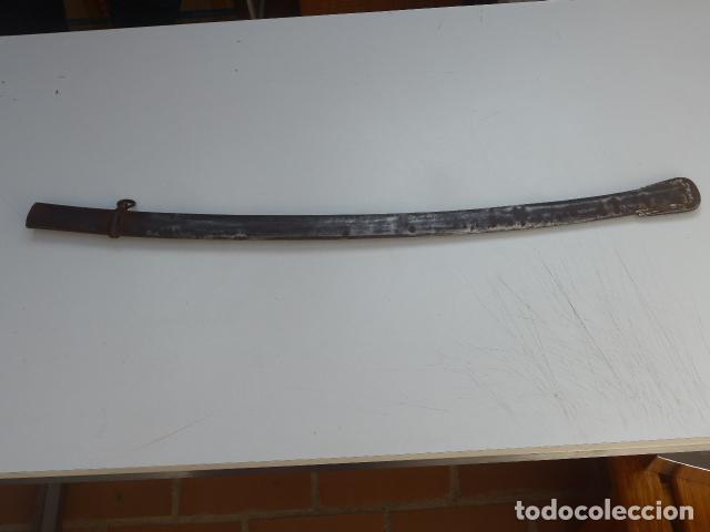 Militaria: * Antigua funda de sable o espada curvada, original sobre 1820s. ZX - Foto 2 - 154554350