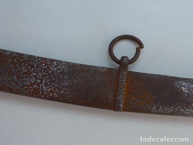 Militaria: * Antigua funda de sable o espada curvada, original sobre 1820s. ZX - Foto 5 - 154555050