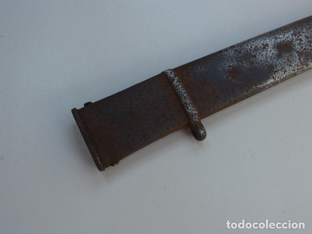 Militaria: * Antigua funda de sable o espada curvada, original sobre 1820s. ZX - Foto 9 - 154555050