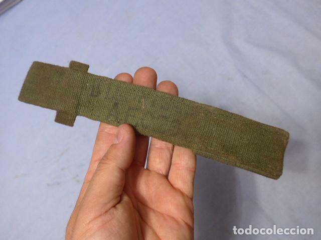 Militaria: * Antiguo tahali de bayoneta, creo ingles, original. ZX - Foto 3 - 164866250