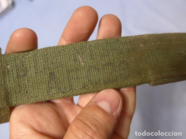 Militaria: * Antiguo tahali de bayoneta, creo ingles, original. ZX - Foto 4 - 164866250