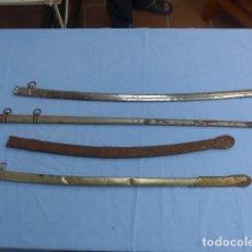 Militaria: * LOTE 4 ANTIGUAS FUNDAS DE ESPADA, VARIEDAD. ZX. Lote 175896263