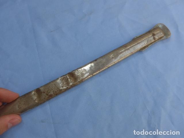 Militaria: * Antigua funda o vaina de espada española, recta, original. ZX - Foto 8 - 177615119