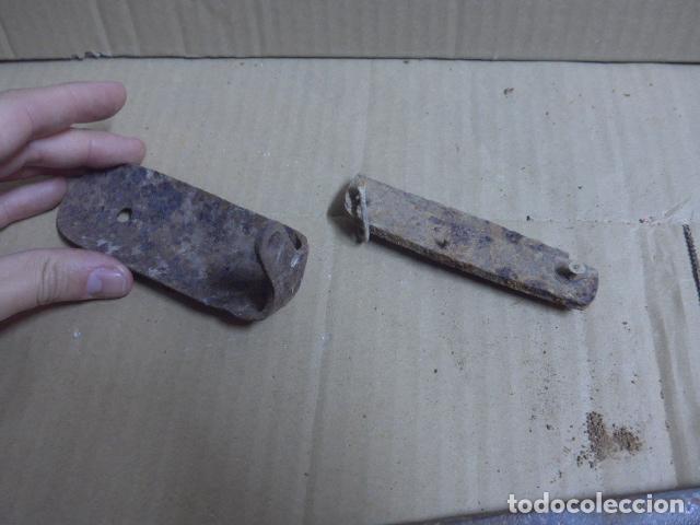 Militaria: * Antiguo lote de guerra civil: hoja de machete artilleria y restos de fusil. ZX - Foto 9 - 187396780